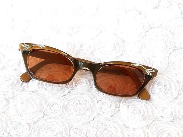 Доп.фото. Солнцезащитные очки 50ых годов   Ярмарка Мастеров - ручная работа, handmade