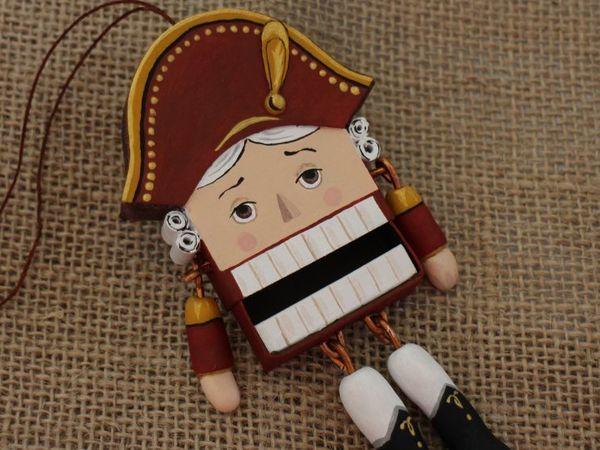 Мастерим Щелкунчика из коробка от спичек — видео мастер-класс | Ярмарка Мастеров - ручная работа, handmade
