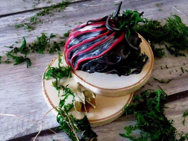 Шкатулка из полимерной глины | Ярмарка Мастеров - ручная работа, handmade