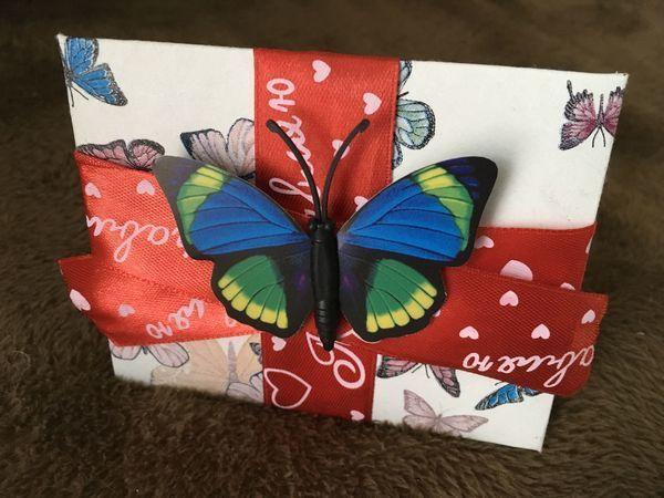 Видео мастер-класс: как сделать подарочный картонный конверт без клея | Ярмарка Мастеров - ручная работа, handmade