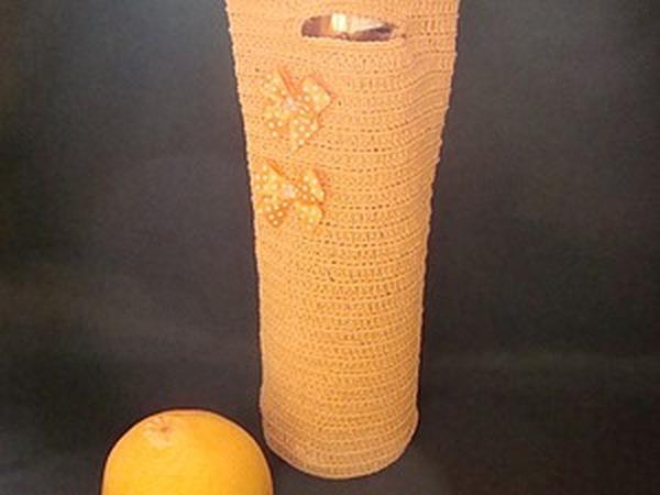 НОВИНКА! Подарочный чехол - сумка для бутылки
