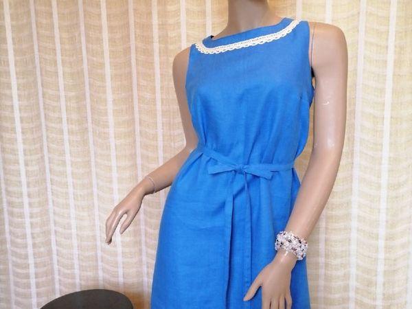Красивые льняные платья   Ярмарка Мастеров - ручная работа, handmade