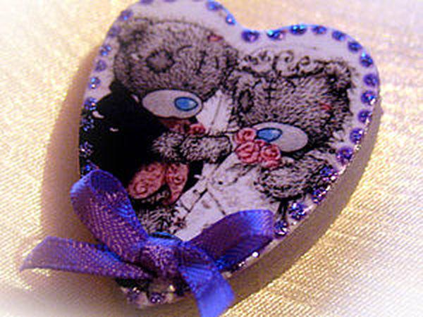 Создание свадебных магнитов   Ярмарка Мастеров - ручная работа, handmade