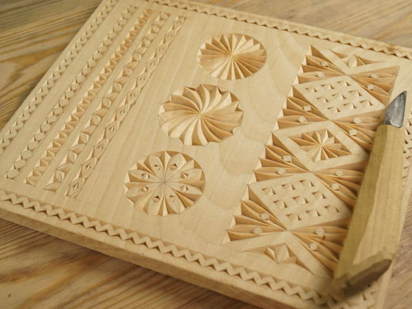 Трехгранно-выемчатая резьба   Ярмарка Мастеров - ручная работа, handmade