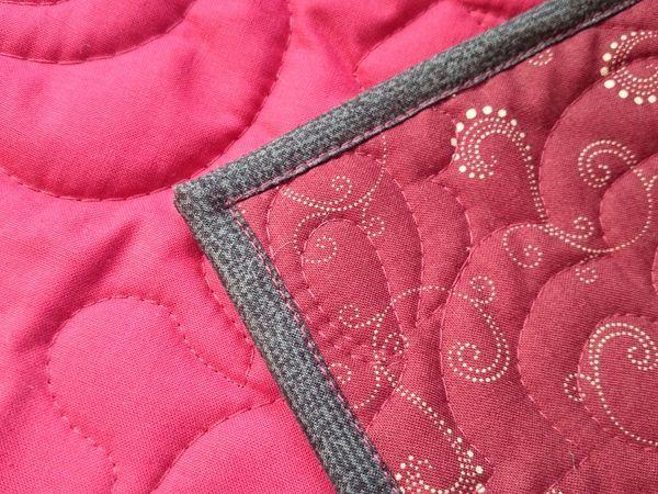 Окантовка лоскутного одеяла. | Ярмарка Мастеров - ручная работа, handmade