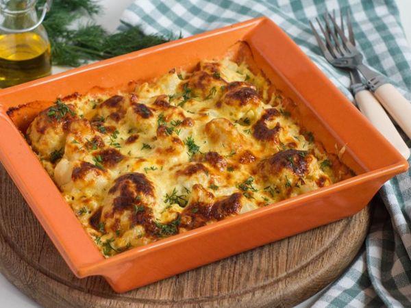 Быстрый ужин — цветная капуста с сыром | Ярмарка Мастеров - ручная работа, handmade