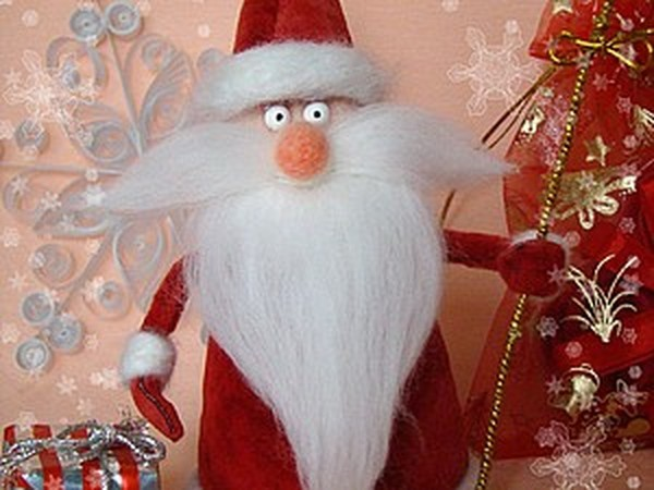 Здравствуй, Дедушка Мороз! | Ярмарка Мастеров - ручная работа, handmade