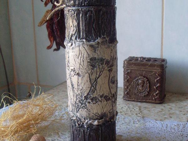 Мастерим короб для хранения спагетти «Терра» | Ярмарка Мастеров - ручная работа, handmade