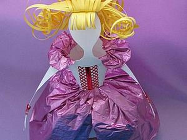 Мастерим куклу в бальном платье | Ярмарка Мастеров - ручная работа, handmade