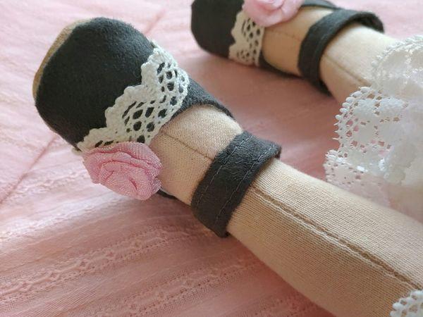 Делаем туфельки для текстильной куклы | Ярмарка Мастеров - ручная работа, handmade