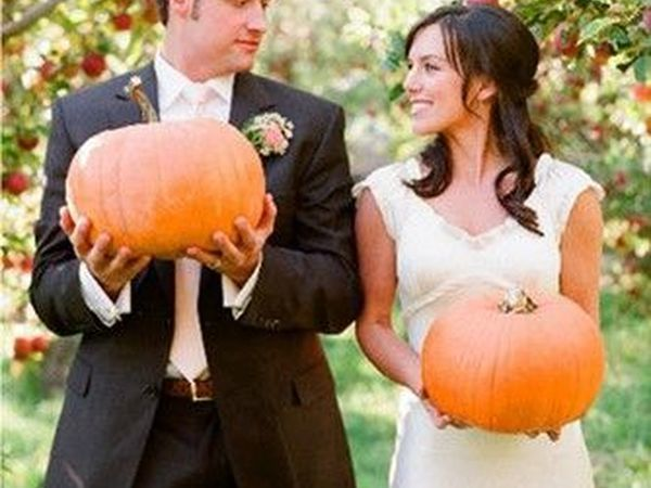 A Wedding with a Touch of Pumpkinness, or Original Ideas for an Autumn Celebration | Livemaster - handmade