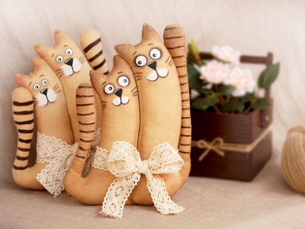 Кофейные Коты для Души   Ярмарка Мастеров - ручная работа, handmade