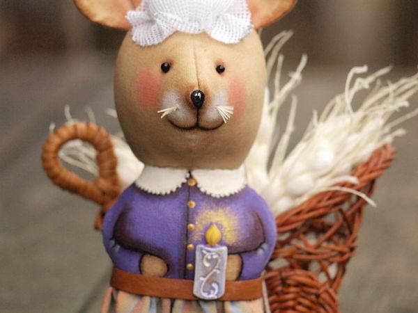 Шьем новогоднюю Кофейную Мышь-Хозяйку домашнего уюта | Ярмарка Мастеров - ручная работа, handmade