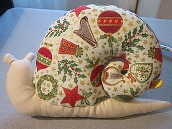 Новогодняя Тильдочка - Улиточка | Ярмарка Мастеров - ручная работа, handmade