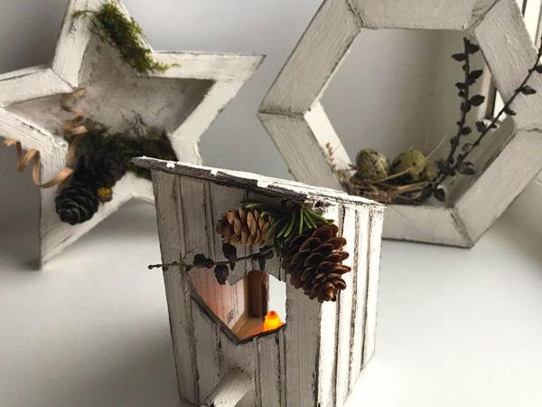 DIY: 3 Идеи декора из Картона / Декор для дома | Ярмарка Мастеров - ручная работа, handmade