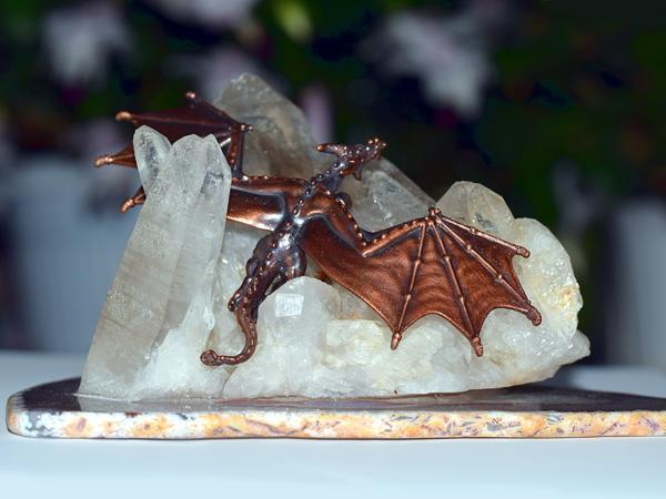 «Дракон ледяных вершин»  — новая интерьерная композиция | Ярмарка Мастеров - ручная работа, handmade