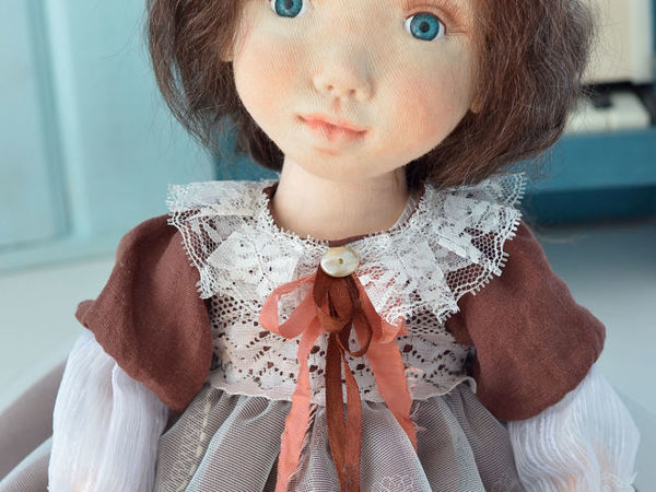 Кукла Мила | Ярмарка Мастеров - ручная работа, handmade