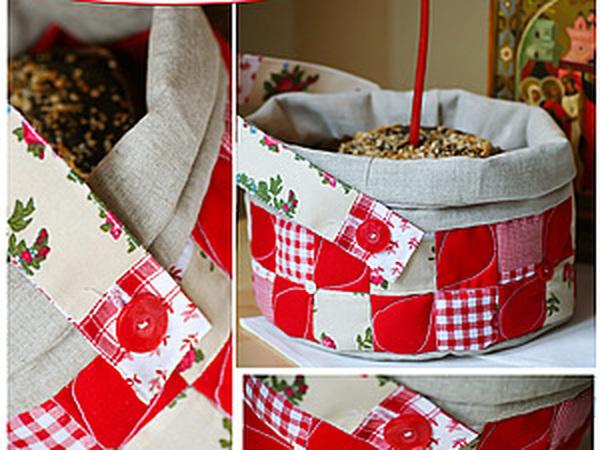 Текстильный короб для освящения пасхального кулича | Ярмарка Мастеров - ручная работа, handmade