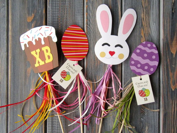Making Easter Toppers with Kids | Livemaster - handmade