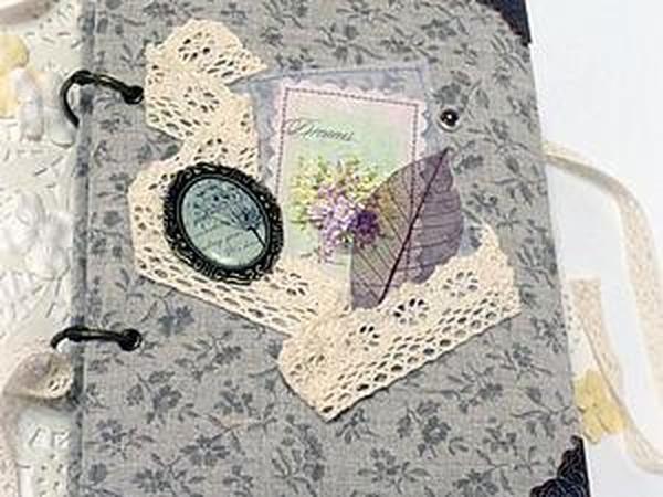 Делаем блокнот для записей и фотографий   Ярмарка Мастеров - ручная работа, handmade
