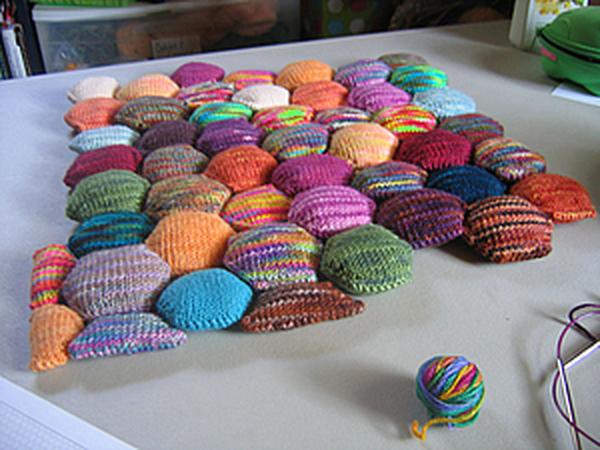 «Пчелиное одеяло», или Hexipuffs | Ярмарка Мастеров - ручная работа, handmade