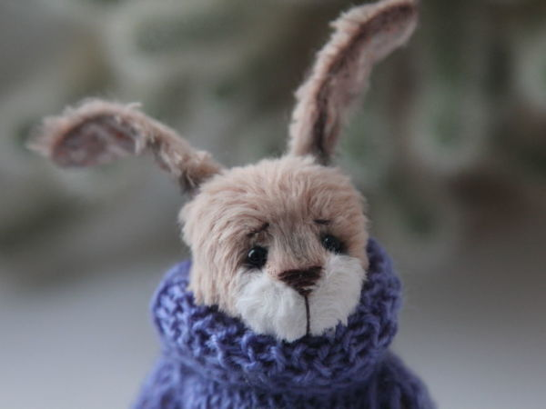 Новый заяц в моем магазине!   Ярмарка Мастеров - ручная работа, handmade