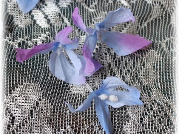 Преображаем покупные тканевые цветы | Ярмарка Мастеров - ручная работа, handmade