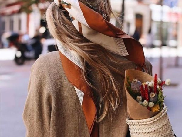Summer Kerchief: 12 Ways to Add Bright Colors to your Look | Livemaster - handmade