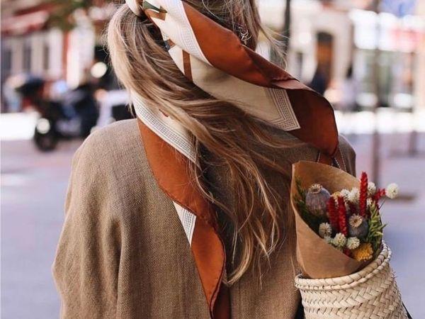 Летний платок: 12 способов добавить ярких красок в свой образ | Ярмарка Мастеров - ручная работа, handmade