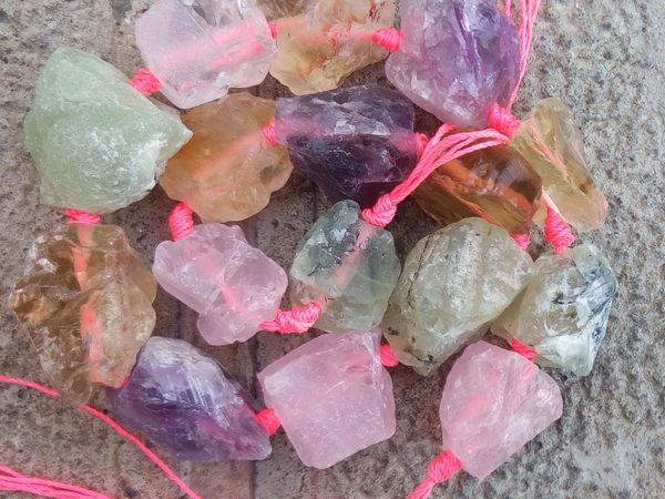 ЗАВЕРШЕН Аукцион на бусины,подвески, срезы из натуральных камней!   Ярмарка Мастеров - ручная работа, handmade