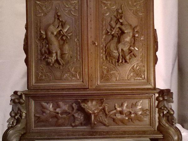 Реставрируем резной охотничий шкафчик | Ярмарка Мастеров - ручная работа, handmade