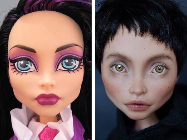 Художница перекрашивает куклы так, что на них теперь приятно смотреть | Ярмарка Мастеров - ручная работа, handmade