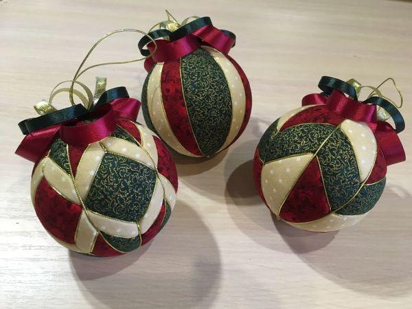 Мастерим ёлочный шар в технике кимекоми   Ярмарка Мастеров - ручная работа, handmade