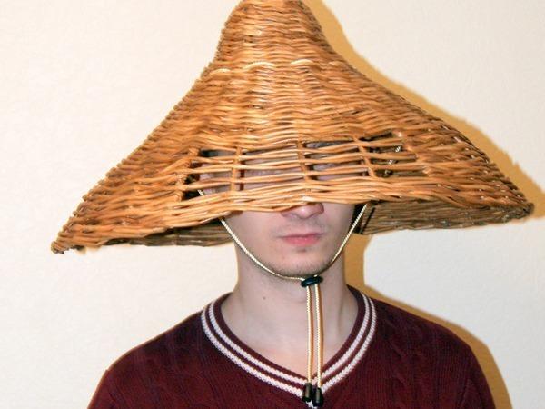 Японская шляпа   Ярмарка Мастеров - ручная работа, handmade