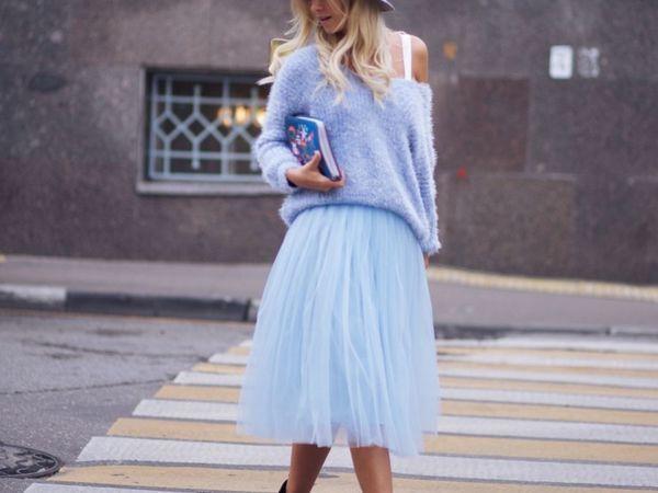 История воздушной фатиновой юбки | Ярмарка Мастеров - ручная работа, handmade