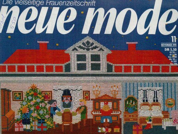 Neue mode 11 1991 (ноябрь) | Ярмарка Мастеров - ручная работа, handmade