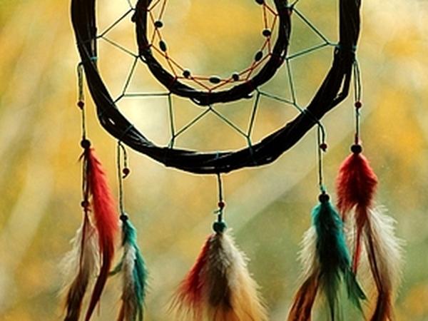 Индейский ловец снов своими руками | Ярмарка Мастеров - ручная работа, handmade