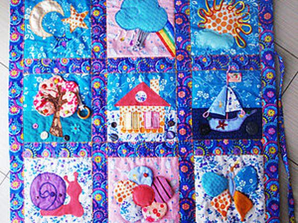 Шьем развивающий коврик своими руками   Ярмарка Мастеров - ручная работа, handmade