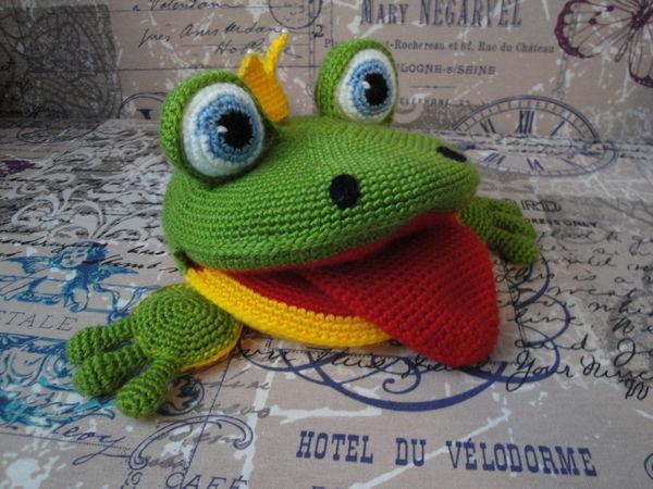 Лягушка для логопеда: вяжем развивающую игрушку | Ярмарка Мастеров - ручная работа, handmade