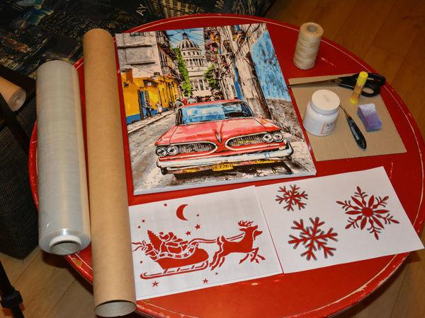Упаковка картины в подарок   Ярмарка Мастеров - ручная работа, handmade