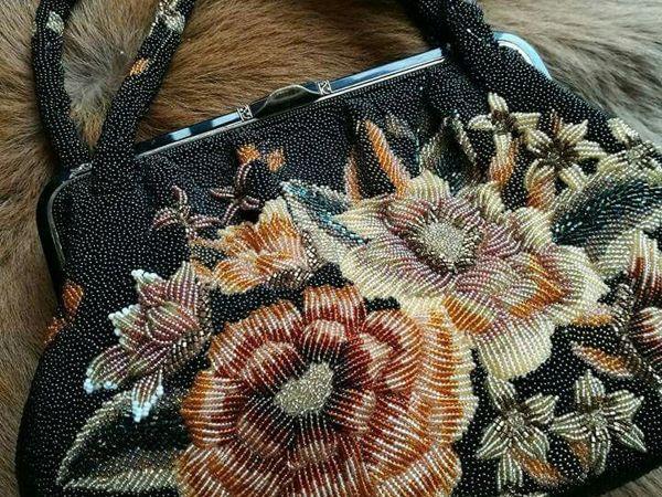 Японские бисерные сумки. История и современность | Ярмарка Мастеров - ручная работа, handmade