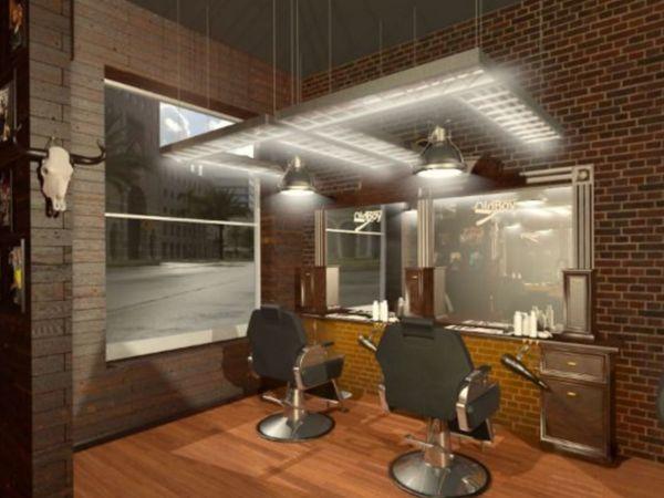 Barbershop Old Boy отделка интерьера.   Ярмарка Мастеров - ручная работа, handmade
