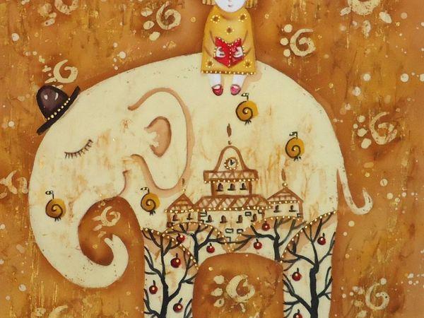Сказка для Слона | Ярмарка Мастеров - ручная работа, handmade