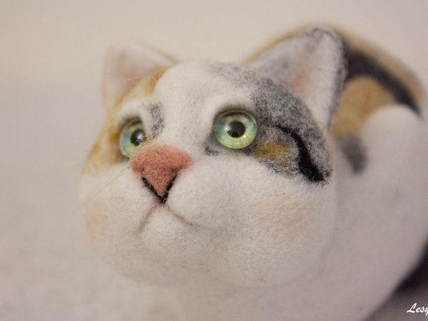 DIY on How to Felt a Kitten | Livemaster - handmade