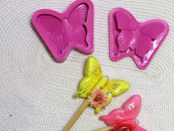 Делаем из фоамирана насадку «Бабочка» на карандаш | Ярмарка Мастеров - ручная работа, handmade