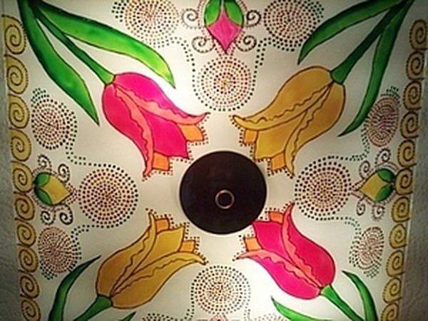 Роспись плафона для кухни.   Ярмарка Мастеров - ручная работа, handmade
