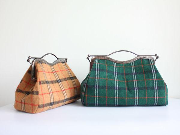 Шьем сумку саквояж с фермуаром | Ярмарка Мастеров - ручная работа, handmade