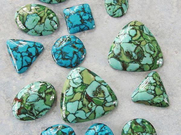 Полимерная глина Имитация камней Бирюза   Ярмарка Мастеров - ручная работа, handmade