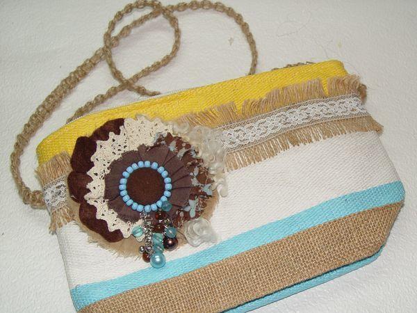 Переделываем летнюю косметичку в яркую сумочку | Ярмарка Мастеров - ручная работа, handmade