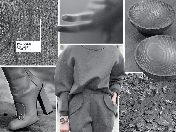 Неотразимый серый: игра тканей, оттенков и сочетаний с другими цветами | Ярмарка Мастеров - ручная работа, handmade
